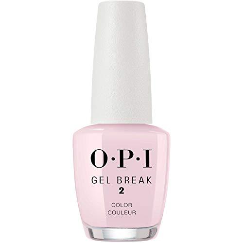 OPI Gel Break Treatment, Properly Pink, 0.5 Fl Oz