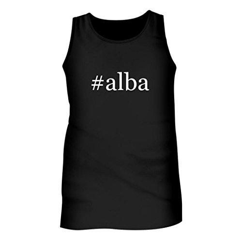 #Alba - Men's Hashtag Adult Tank Top, Black, - Fall Alba Fashion Jessica