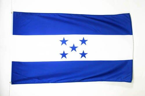 AZ FLAG Bandera de Honduras 150x90cm Bandera HONDURE/ÑA 90 x 150 cm poli/éster Ligero