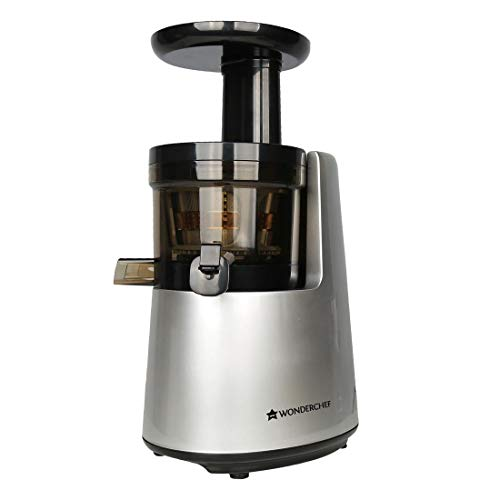 Wonderchef V6 200 Watt Cold Press Juicer  Black and Silver