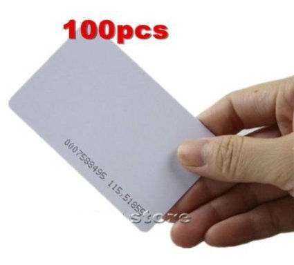 100pcs card Proximity Prox Card Works With HID ISOProx 1326 1386 26-Bit  H10301