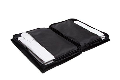 BAGAGLIO IN ORDINE con la porta camicie da viaggio BASIC - Set 1 - per trasportare fino a 6 camicie in condizioni perfette!