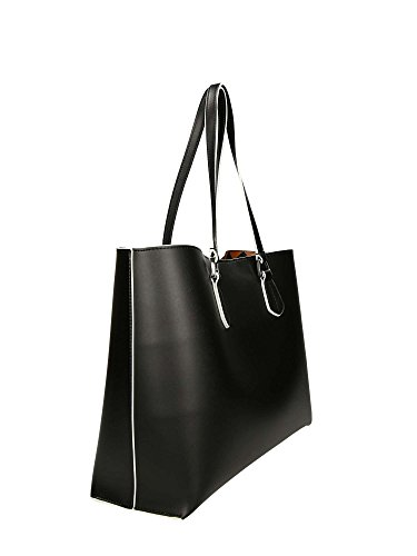 noir de Black sac Wilma shopper Leather logo Emporio Armani qRZYxRt