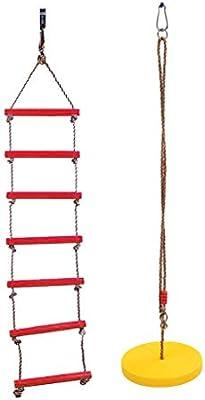 B Blesiya 2X Juguete de Niños Columpio Escaleras de Escaladas de ...