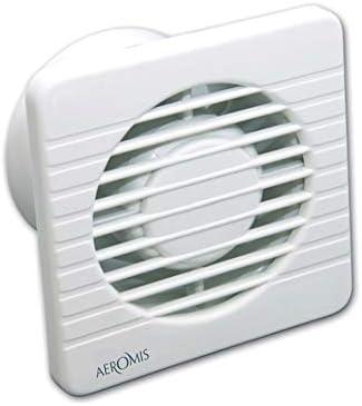 AEROMIS ventilador extractor de pared y techo para cocina o baño