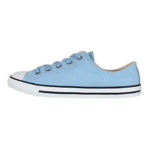 Taylor 472 Dainty Basses light light Converse Ctas silver Ox Chuck Femme Multicolore Sneakers Blue Blue q5StB6