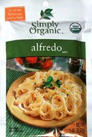 Simply Organic Alfredo Seasoning Mix -- 1.48 (Simply Organic Alfredo)