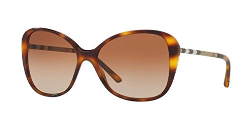 Burberry BE4235Q 331613 Light Havana BE4235Q Butterfly Sunglasses Lens Category by BURBERRY (Image #1)