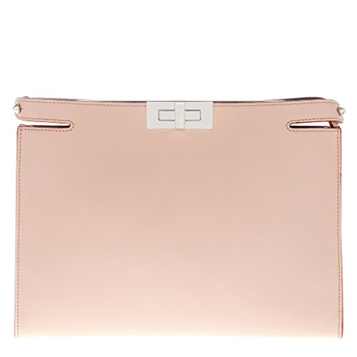 Fendi-Womens-Peekaboo-Clutch-Blush
