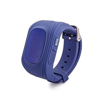 WDXDP Pulsera Inteligente Q50 Smart Watch Kid Anti Lost PS ...