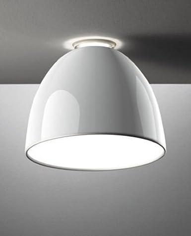 Amazon.com: Nur mini Gloss ceiling light - glossy white, 110 ...