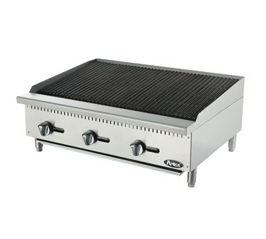 Radiant Charbroiler BBQ Grill Broiler Heavy Duty (Electric Countertop Charbroiler)