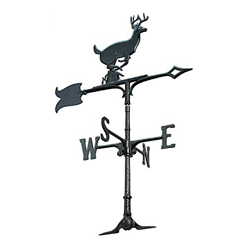 Whitehall Products Buck Weathervane, 30-Inch, Rooftop ()