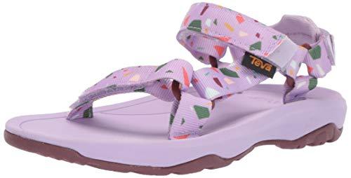 Teva Girls' K Hurricane XLT 2 Print Sport Sandal, TERRAZO Orchid, 3 Medium US Little Kid