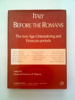Italy Before the Romans: The Iron Age