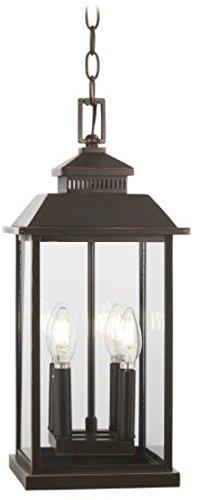 Minka Lavery Outdoor Pendant Lighting 72594-143C Miner's Loft, 4-Light 160 Watts, Oil Rubbed Bronze