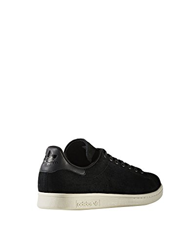 adidas Stan Smith, Sneaker a Collo Basso Uomo Schwarz (Core Black)