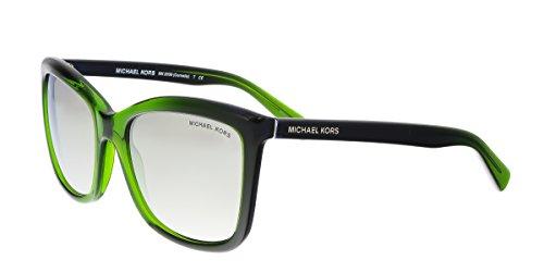 Michael Kors MK2039 32196G CORNELIA Green Gradient Square - Sunglasses Michael Green Kors