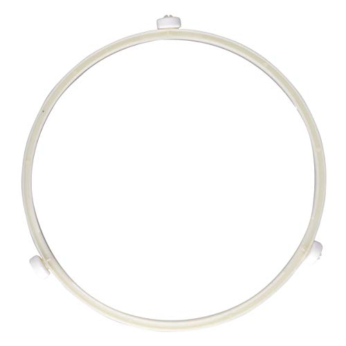CHICTRY Microwave Oven Glass Turntable Circle Fittings Replacement Bracket Base Plate Tray Rotating Ring Support Roller Beige Small by CHICTRY (Image #1)