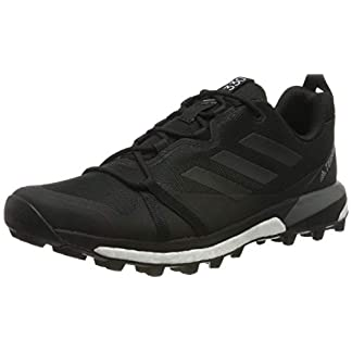 adidas Mens Terrex Skychaser LT Walking Shoe, Core Black/Core Black/Grey, 40 EU 9