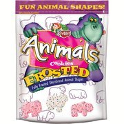 (Keebler Frosted Animal Cookies, 13 oz(Pack of 4) )