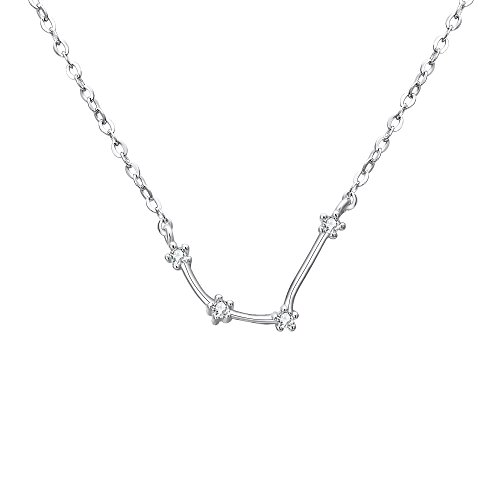 BriLove 925 Sterling Silver Necklace -