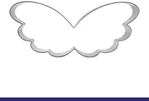 4pcs Angel Wings Shape Stainless Steel Cutters Mold Fondant Cake Biscuit Moulds