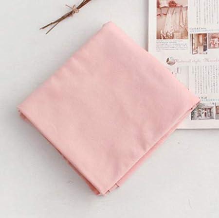 The Yard - Tela de punto (algodón orgánico, 180 cm de ancho), diseño de flor de cerezo Pink Solid: Amazon.es: Hogar