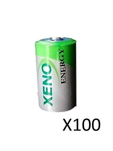(100) XENO ER14252 1/2AA LITHIUM BATTERIES FOR TEKCELL SB-AA02SB-AA02P by Xeno