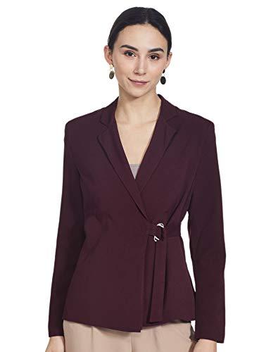 FabAlley Women's Wrap Blazer Regular