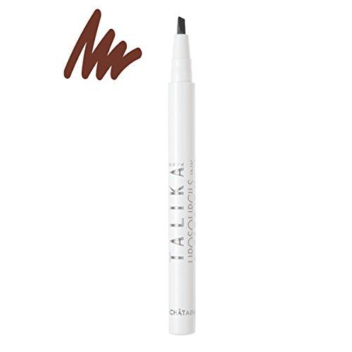 Talika Eyebrow Lipocils Ink, Brown, 0.02 oz.