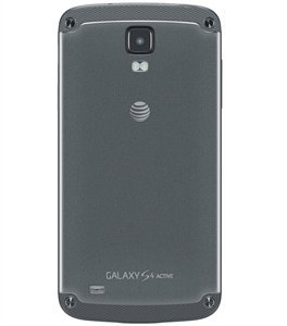 Samsung Galaxy S4 Active i537 Grey Standard Battery Door Back Cover - AT&T