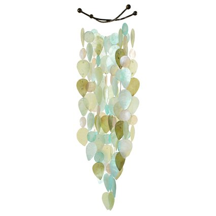 Cool Tones Capiz Shell Windchime Review