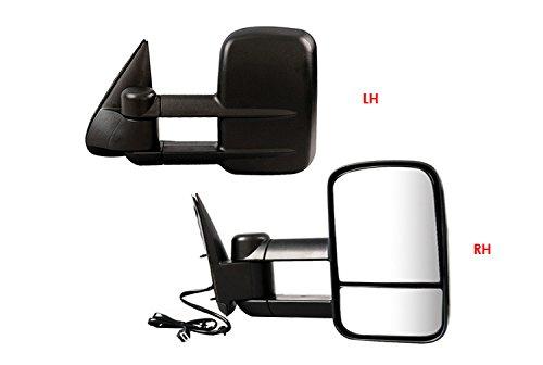 APS 2003-2007 Chevy/GMC Silverado/Sierra Power Heated & Telescoping Towing Mirror ()