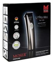 Moser 1584 Li+pro Mini Professional Hair Clipper Corded/cordless Haircut Machine Beard Trimmer Dual Voltage 100-240v, 50-60hz NEW by MOSER