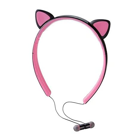 Amazon.com: Brookstone Wireless Cat Earbuds with Removable Ears: Home Audio & Theater