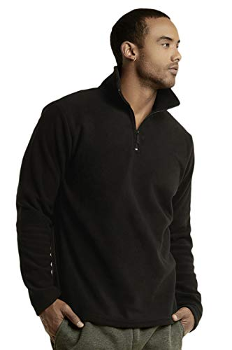 Knocker Men's Polar Fleece Quarter Zip Pullover (S, - Zip Quarter Mens Fleece