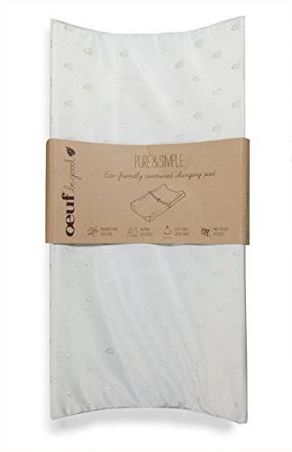 Natural Wet Proof Pure & Simple Contoured Changing Pad