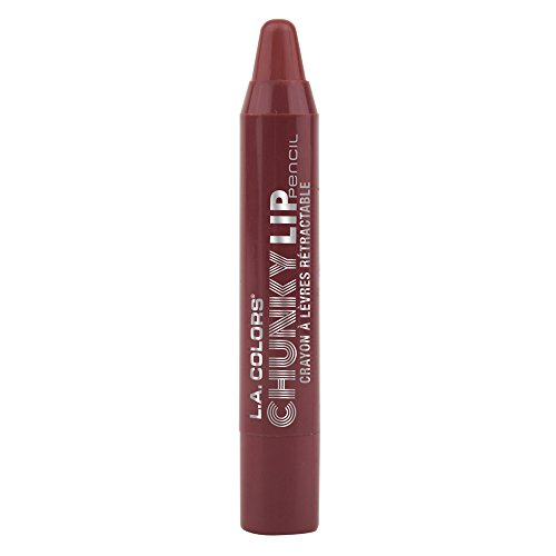 L.A. Colors Chunky Lip Pencil, Cocoa, 0.04 Ounce 0.04 Ounce Lip Pencil