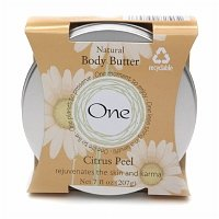 One Real Shea Body Butter Citrus Peel