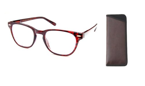 The Panorama - Quality Bifocal Reading Glasses - Reading Glasses You Can Wear All The Time! , 3.00, - Wear You Wood