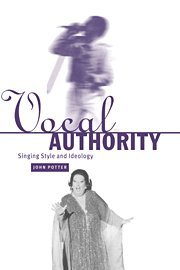 Vocal Authority: Singing Style and ()