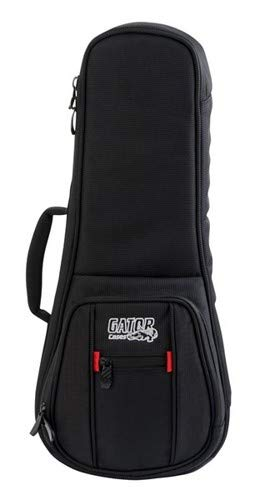 Gator Cases Pro Go Series g-pg-uke-sop Gig Bag for Sopranoスタイルウクレレ G-PG-GTR G-PG-UKE-SOP ソプラノスタイル  B00YSYS4OS