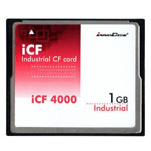 INNODISK DC1M-128D31W1SB Solid State Drive, CompactFlash Memory Card, iCF4000 Industrial CF Card with Toshiba, Industrial, W/T Grade, -40~85°C, 128MB iCF4000 SLC