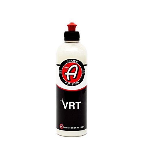 Adam's VRT Vinyl, Rubber, Tire & Trim Dressing - Durable UV 35 Protection and Water Repellent - Leaves a Crisp Freshly Detailed Look - Dress Your Tires or Trim Without Worry of Slinging (16 oz) ()
