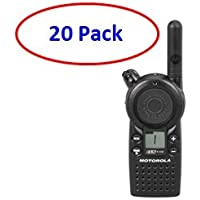 20 Pack of Motorola CLS1410 Two-way Radios with Programming Video
