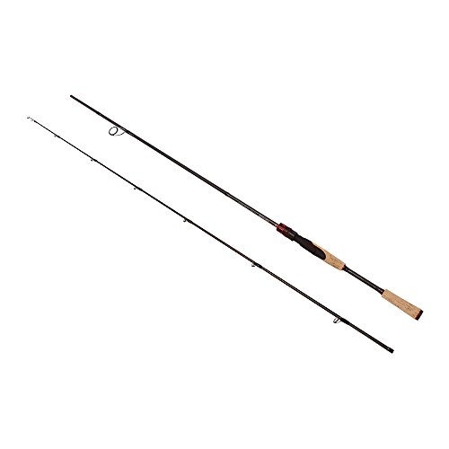 Noeby Spinning Fishing Rod Lightweight 2 Section Portable Fishing Rod Fast-Action Graphite (Bass Fishing Rod Blank)