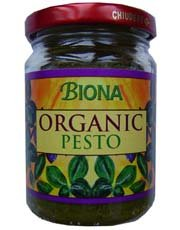 Biona Organic - Green Pesto with Pine Kernels - 120g