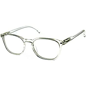 bb0a00ca17e Aloha Eyewear Tek Spex 8002 Unisex Dual-Focus Progressive No-Line Reading  Glasses (Clear Top  +0.00   Bottom  +2.00)