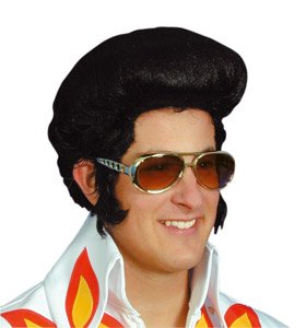 b9b8619b244 Fancy Dress Glasses Shades Specs Elvis Style Gold  Amazon.co.uk ...